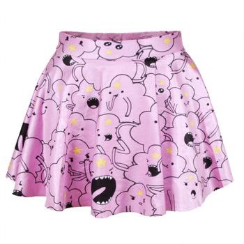 На картинке юбка Время приключений (Adventure time) 5 вариантов, вариант Принцесса Пупырка.