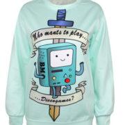 Свитшот-кофта «Бимо» из Время приключений (Adventure time) фото