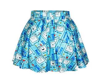 На картинке юбка Время приключений (Adventure time) 5 вариантов, вариант Бимо.