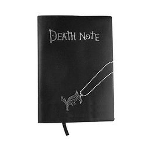 На картинке тетрадь смерти из аниме Death Note (3 варианта), вариант Тетрадь+кулон L.