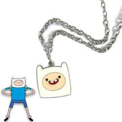 На картинке кулон «Время приключений» (Adventure time) 5 вариантов, вариант Финн №2.