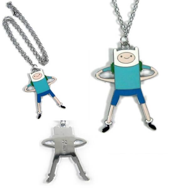 На картинке кулон «Время приключений» (Adventure time) 5 вариантов, вариант Финн №1.