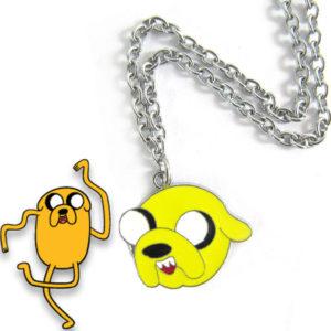 На картинке кулон «Время приключений» (Adventure time) 5 вариантов, вариант Джейк №2.