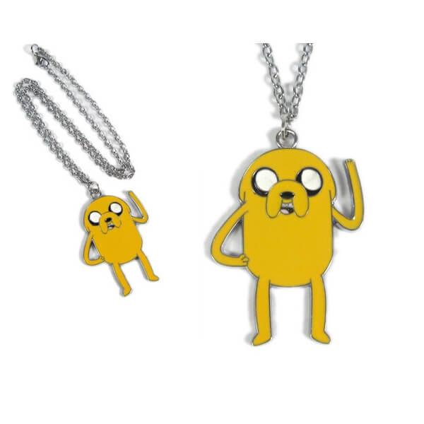 На картинке кулон «Время приключений» (Adventure time) 5 вариантов, вариант Джейк №1.