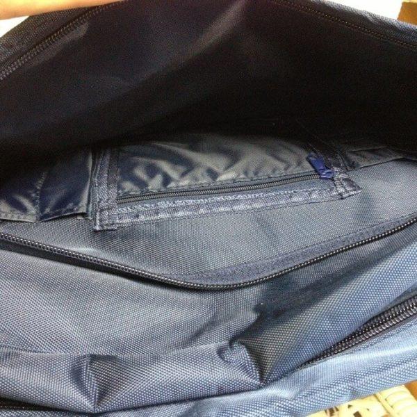 На картинке сумка Баскетбол Куроко, вид внутри.