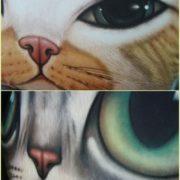 Подушка «Голова кота» (5 вариантов) фото
