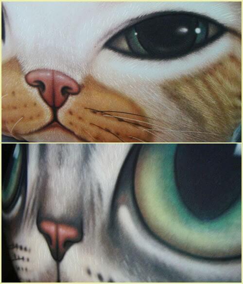 На картинке подушка «Голова кота» (5 вариантов), детали, 2 варианта.