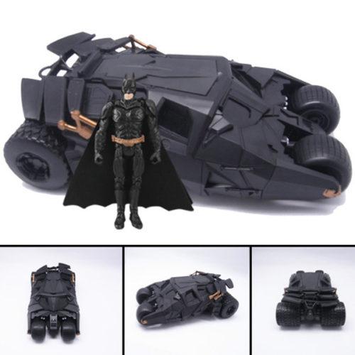 На картинке игрушка машина Бэтмена (Бэтмобиль), общий вид.