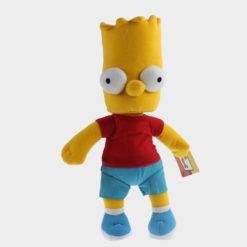 На картинке мягкие игрушки «Симпсоны» (Simpsons), вариант Барт.