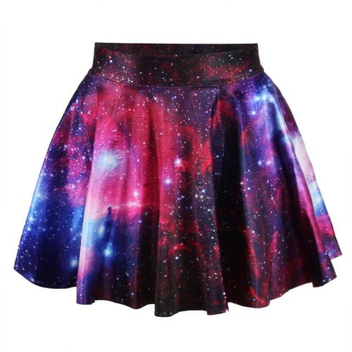 На картинке юбка космос (3 варианта), вариант розовый.