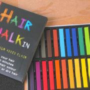 Цветные мелки для окрашивания волос фото