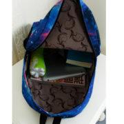 Рюкзак космос с усами (усиками) фото