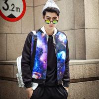 На картинке куртка «Космос», вид спереди. вариант 9.