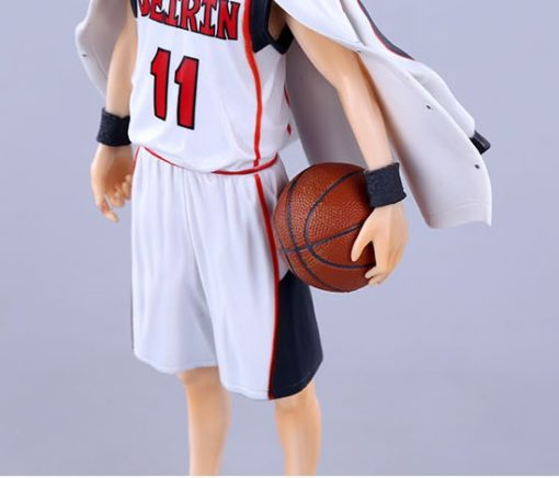 На картинке фигурка Тетсуя Куроко (Kuroko Tetsuya) Баскетбол Куроко, детали.