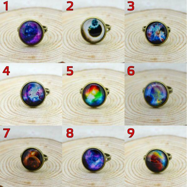 На картинке кольцо «Космос» (9 вариантов).