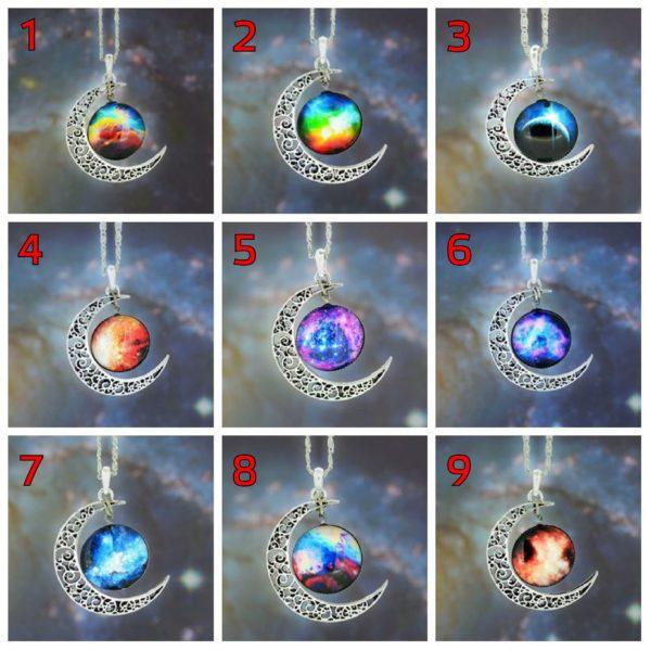 На картинке подвеска «Космос» (9 вариантов).