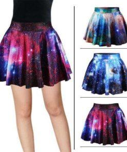 На картинке юбка космос (3 варианта).