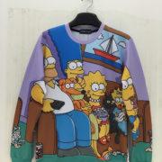 Свитшот с Симпсонами (Simpsons) фото