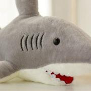 Мягкая плюшевая игрушка акула фото