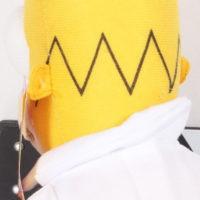 На картинке мягкая игрушка Гомер Симпсон «Simpsons», детали.