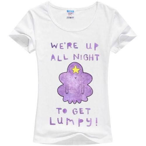 На картинке футболка с Принцессой Пупыркой (белая), вид спереди.