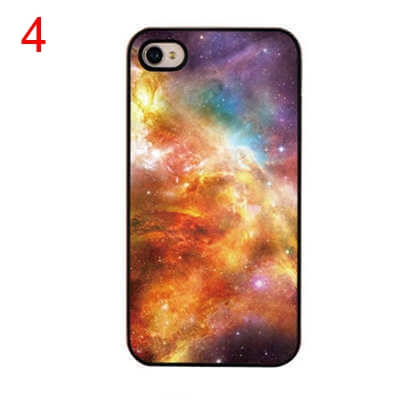 На картинке чехол на айфон космос (iPhone 4-4S-5-5S), вид спереди. вариант 4.