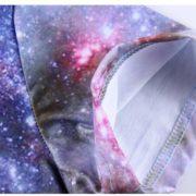 Футболка с принтом космос (космическим принтом) 5 вариантов фото