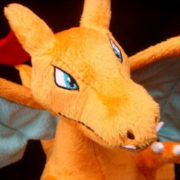 Мягкая игрушка покемон Чаризард (Покемон) фото