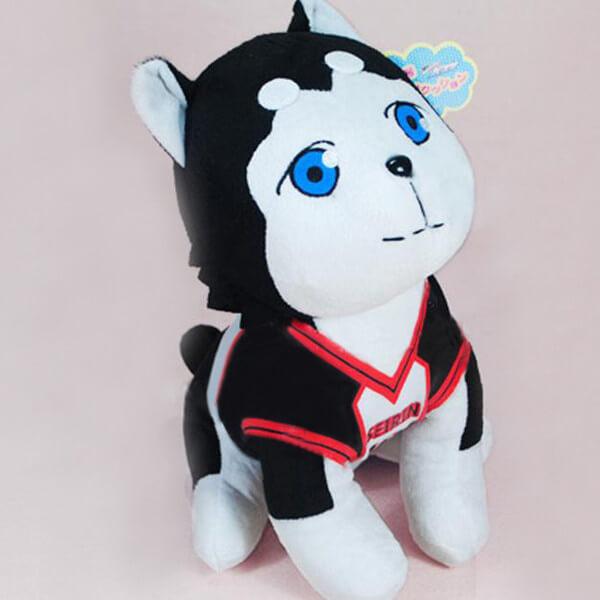 На картинке мягкая игрушка Баскетбол Куроко собака Тецуя 2, общий вид.