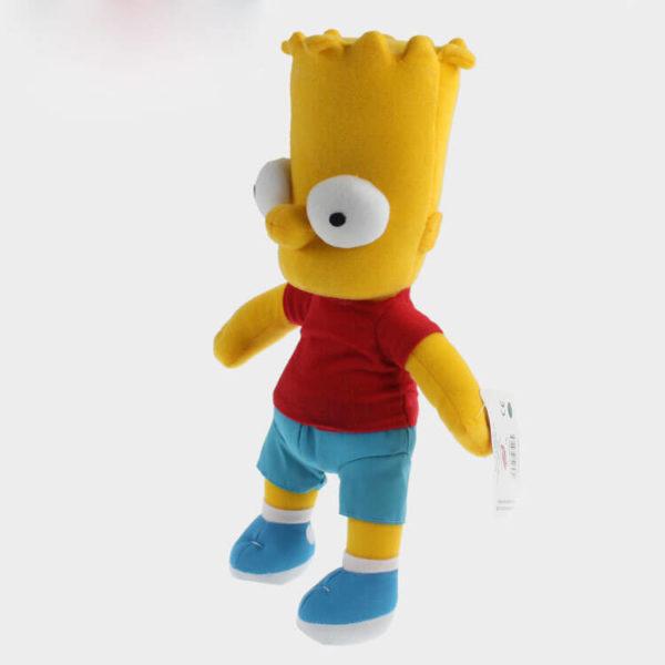 """На картинке мягкая игрушка Барт Симпсон """"Simpsons"""", общий вид."""
