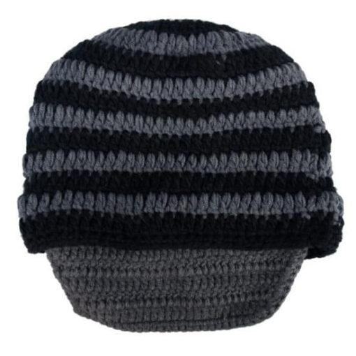 На картинке шапки с усами и бородой (4 варианта), цвет серый.