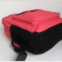 На картинке рюкзак-портфель с усами (усиками) 8 цветов, общий вид, цвет розовый.