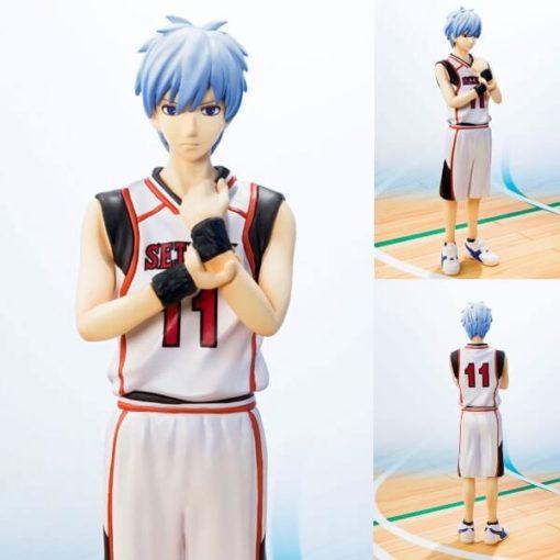 На картинке фигурка Тетсуя Куроко (Kuroko Tetsuya) Баскетбол Куроко (2 варианта), вид спереди и сзади.