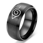На картинке кольцо Наруто (Naruto), общий вид, крупный план.