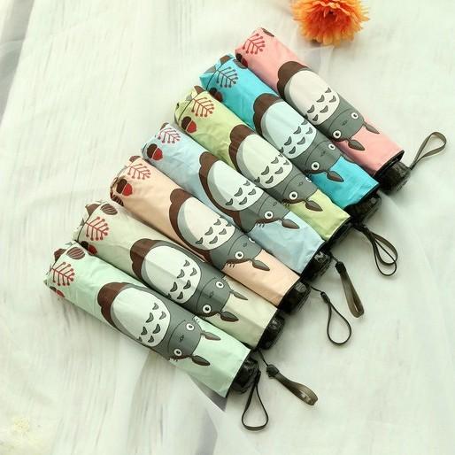 На картинке зонт (зонтик) «Тоторо» (Totoro) 6 вариантов.