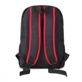 На картинке рюкзак «Токийский гуль» в виде маски Канеки, вид сзади.
