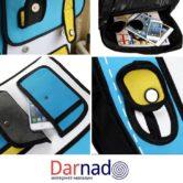 Рюкзак 2d (2 д) 3 варианта, детали