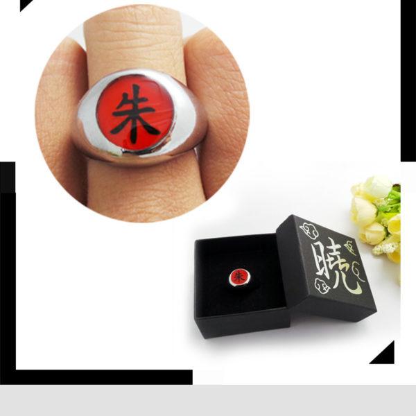 На картинке кольцо Итачи Учиха (Наруто), общий вид.