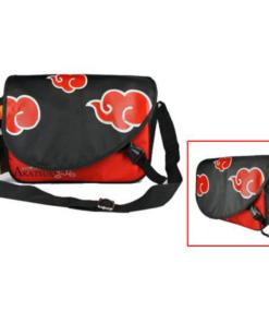 На картинке сумка Наруто со знаком Акацуки, вид спереди.