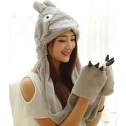 На картинке шапка «Тоторо» (Totoro), общий вид.