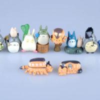 На картинке набор «Тоторо» (Totoro), вид спереди.