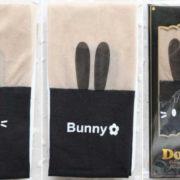 Модные колготки с имитацией чулков «Кролик» фото