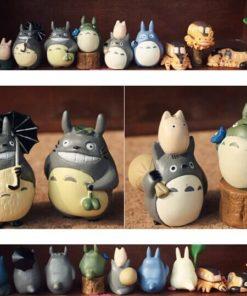 На картинке набор «Тоторо» (Totoro), вид спереди и сзади.