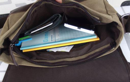 На картинке сумка Наруто, вид внутри.