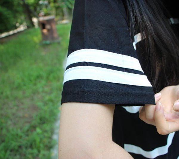 На картинке футболка «Токийский гуль», детали.