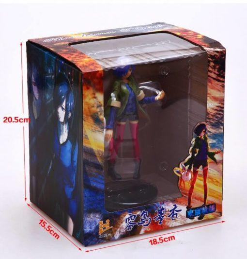 На картинке фигурка Тоука Киришима (Kirishima Toka) — Токийский гуль, вид в упаковке.