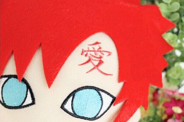 На картинке игрушка Гаара из Наруто, детали.