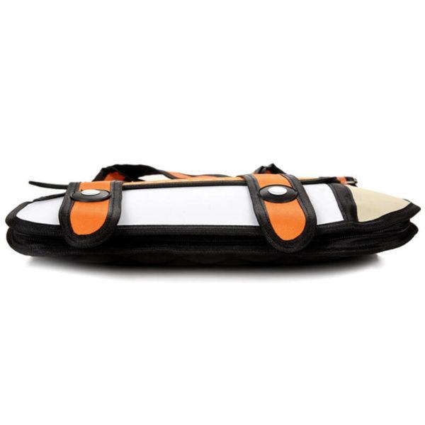 На картинке сумки 2д, вид снизу, цвет оранжевый.