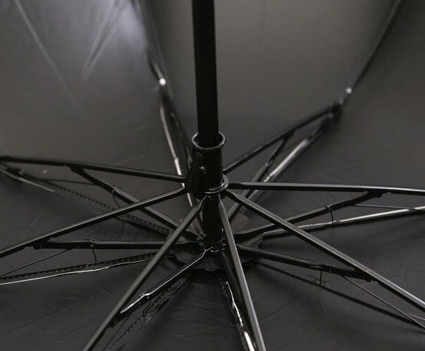 На картинке зонт (зонтик) «Тоторо», детали.