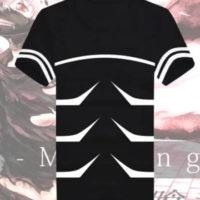 На картинке футболка «Токийский гуль», вид спереди.